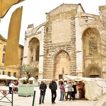 Feira medieval Saint-Maximin-la-Sainte-Baume
