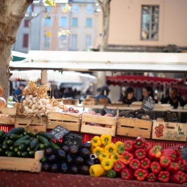 Feira Provençal em Aix-en-Provence