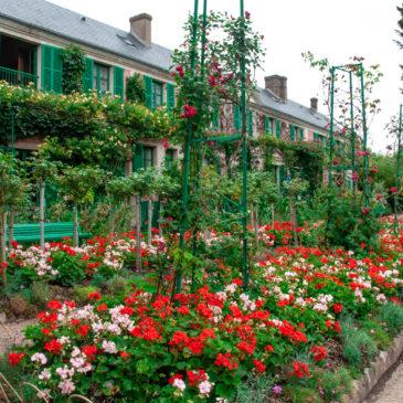 Uma tarde na casa de Monet em Giverny