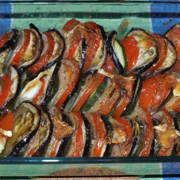 Receita provençal: Tian de legumes