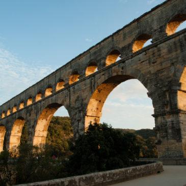 Pont du Gard, patrimônio da humanidade na Provença