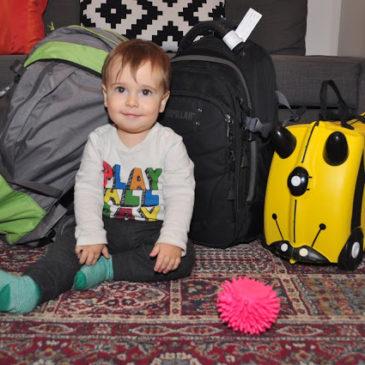 Viajar sem despachar bagagem com bebê