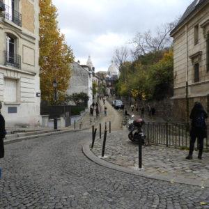 Pelas ruas de Montmartre