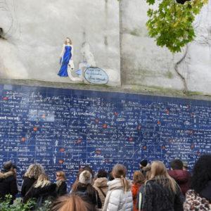 """Muro dos """"Eu te amo"""""""