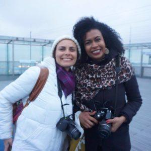 Tour Montparnasse com a Paula Augot, que trocou a Europa pela Ásia depois do encontro. Foto: Dani Bispo