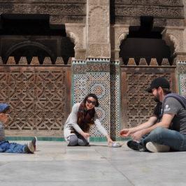 marrocos com criança